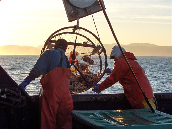 Why West Coast Crab Fishers and Tugboat Captains Aren't Feeling Crabby