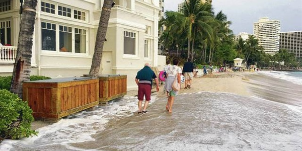 """Consider it a practice run:"" Hawai'i Sea Grant and partners advise state of unusually high tide..."