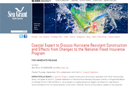 Helping Coastal Communities Prepare for Flood Insurance Changes