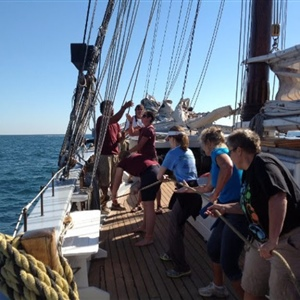 Science, Sailing and Shipwrecks Workshop Gives Teachers in Great Lakes New Tools and New Peers