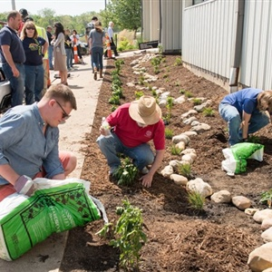 Rain garden training is helping Indiana address flooding and water quality concerns