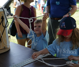Volunteer Educators Teach 80,000 Visitors, Saving $83,600 in Services for New Hampshire's Marine Education Centers